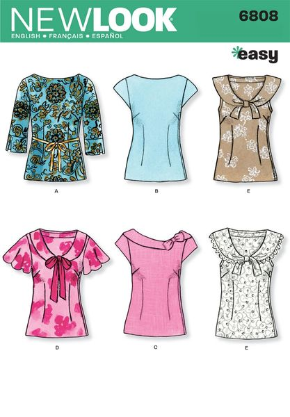 New Look Sewing Pattern 6808