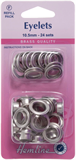 Eyelets Refill Pack: Nickel/Silver - 10.5mm