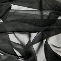 Chinese Chiffon - Black