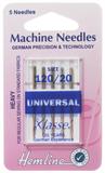 Universal Machine Needles - Heavy 120/20