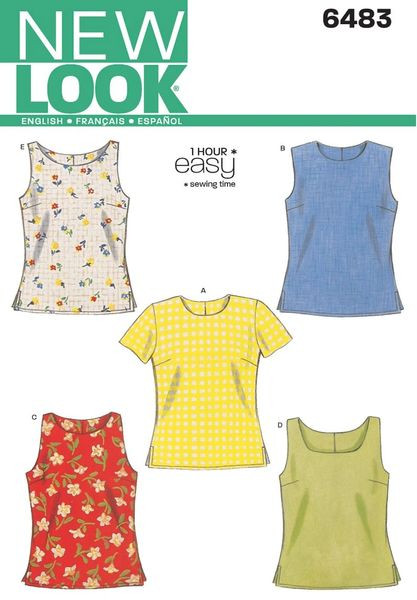 New Look Sewing Pattern 6483