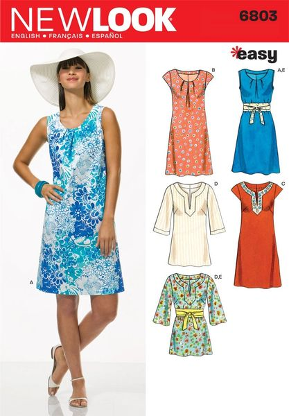 New Look Sewing Pattern 6803