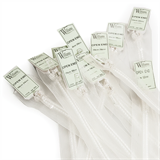 Williams Transparent Open-Ended Zips