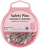 Safety Pins: 34mm - Nickel - 30pcs