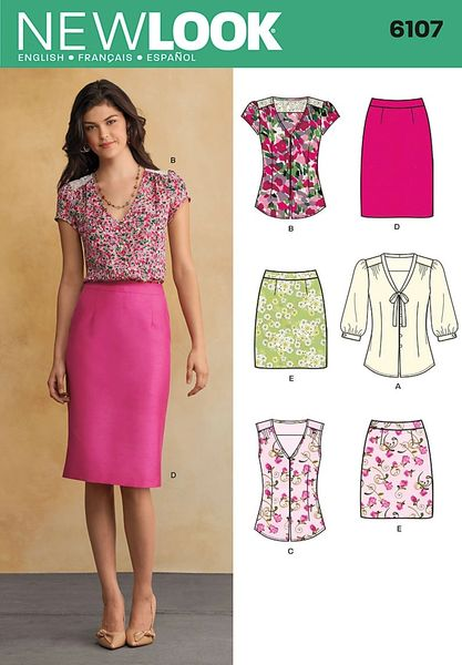 New Look Sewing Pattern 6107