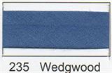 25mm Bias Binding - Wedgwood
