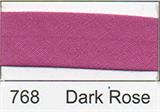 25mm Bias Binding - Dark Rose