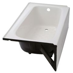 American Standard 2461.002.020. Cambridge 5 ft. x 32 in. Right Drain Americast Soaking Tub in White