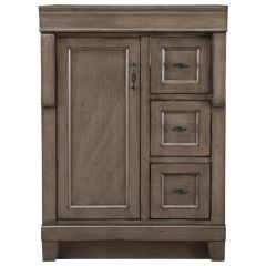 Home Decorators Collection NADGA2421D Naples 24 in. W Vanity Cabinet Only in Distressed Grey