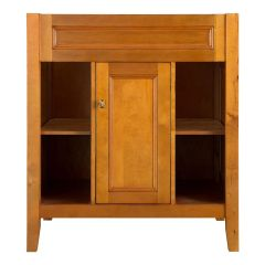 Home Decorators Collection TRIA3022 Exhibit 30 in. W x 21.63 in. D x 34 in. H Vanity Cabinet Only in Rich Cinnamon