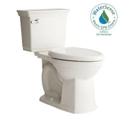 American Standard 707AA101.020 Optum VorMax Complete Right Height 2-piece 1.28 GPF Elongated Toilet in White