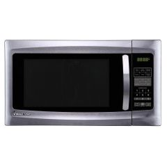 Magic Chef HMM1611ST 1.6 cu. ft. Countertop Microwave, Stainless Steel