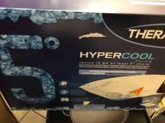 Therapedic Hypercool 5-Degree Small/Queen Back and Stomach Pillow in White