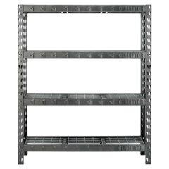 Gladiator GARS604TEG 4-Shelf 60 in. W x 72 in. H x 18 in. D Welded Steel Garage Shelving Unit