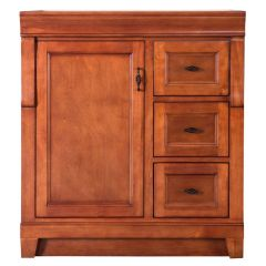 Foremost NACA3021D Naples 30 in. Vanity Cabinet Only in Warm Cinnamon