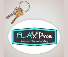 FLAX Pros 5in. x 3in sticker