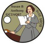 Susan B. Anthony - BGB#5