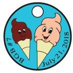 Berkshire Geobash #7 Ice Cream Socials Pathtag