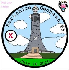 "Berkshire Geobash #5 ""Official"" Pathtag (2016)"