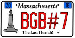Berkshire Geobash #7 License Plate Extagz