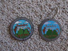 Berkshire Geobash #3 Geocoin (2014) with proxy tag