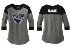 AHU Jr Knights New Era Baseball tee