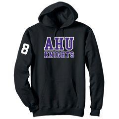 AHU Midget Unisex Hooded Pullover Sweatshirt