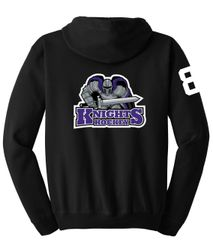 AHU Knight Unisex Zip Hooded Sweatshirt