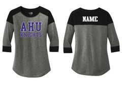 AHU Midgets New Era Baseball tee