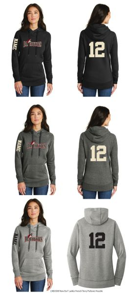 Jr. Coyotes Ladies Terry Pullover Hoodie