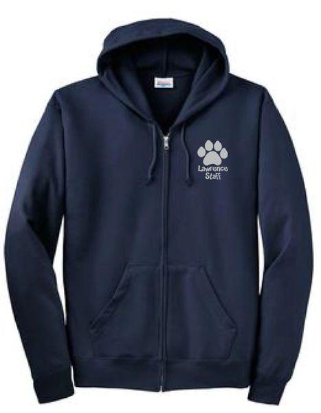 Lawrence Unisex Zip Up Sweatshirt