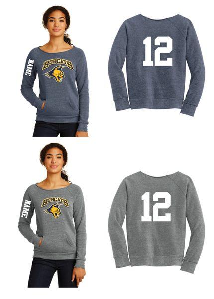 Bobcats Ladies Alternative Apparel Fleece Sweatshirt