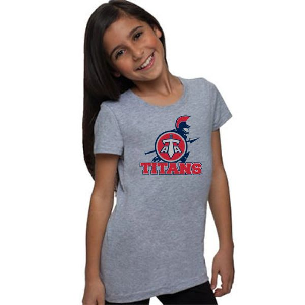 Titans Youth Girls' Fit Shirt with Front Print