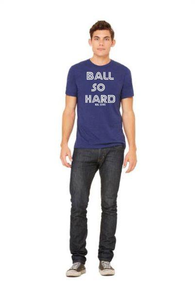 Ball So Hard Real EstateTriblend tee