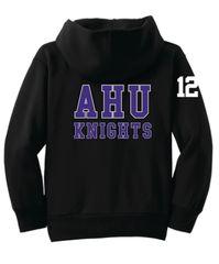 AHU Midget Youth Zip Hooded Sweatshirt