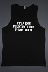 "Fitness ""Fitness Protection Program"" cotton tank"
