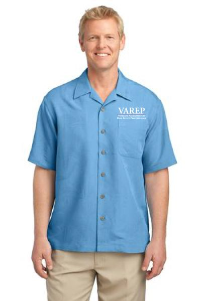 VAREP Men's Patterned Camp Shirt
