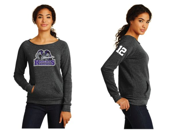 AHU Knights Ladies Alternative Apparel Fleece Sweatshirt