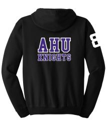 AHU Midget Unisex Zip Hooded Sweatshirt