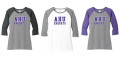 AHU Midgets Ladies Baseball tee