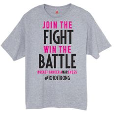 "#1010Strong ""Join the Fight"" Unisex tee"