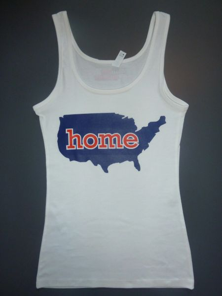 """Fitness """"Home"""" Cotton/Poly/Spandex Tank"""