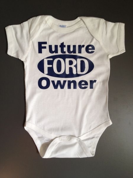 "Custom Baby Onsie ""Future _____ Owner"" with name personalization"