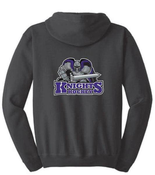 AHU Knights Unisex Zip Hooded Sweatshirt