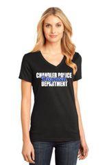 Chandler PD Dispatch Ladies V-neck