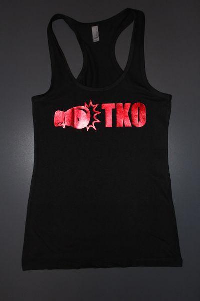 "Fitness ""TKO"" Cotton/Poly/Spandex Tank"