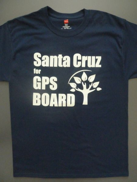 Santa Cruz for GPS School Board MEN'S TEE