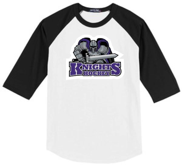AHU Knights Adult Unisex Baseball Shirt