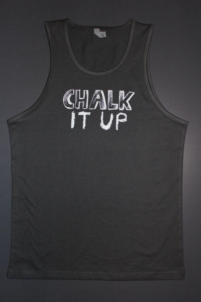 "Fitness ""Chalk It Up"" cotton tank"