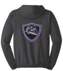 AHU Jr Knights Unisex Zip Hooded Sweatshirt